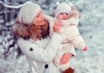 Зимние игры с ребенком